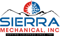logo for Sierra mechanical inc serving colorado since 1981